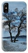 Grassy Point Winter IPhone Case