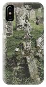 Graveyard Monuments And Gravestones IPhone Case