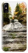 Laughing Whitefish Falls IPhone Case