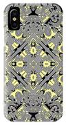 Gray And Yellow No. 1 IPhone Case