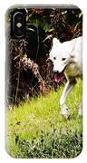 Gray Wolf 2 IPhone Case