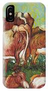 Grazing Cows IPhone Case