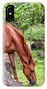 Grazing In Paradise IPhone Case