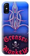 Greased Monkey IPhone Case