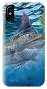 Great Blue And Mahi Mahi Underwater IPhone Case