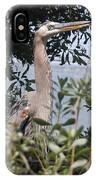 Great Blue Heron II IPhone Case