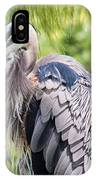 Great Blue Heron Iv IPhone Case