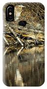 Great Blue Heron Reflection IPhone Case
