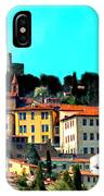 Great Day In The Village IPhone Case