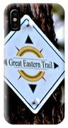 Great Eastern Trail Marker IPhone Case
