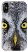 Great Gray Owl Pictures 680 IPhone Case