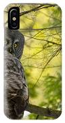 Great Gray Owl Pictures 779 IPhone Case