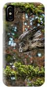 Great Grey Freefall IPhone Case