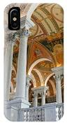 Great Hall Of The Library Of Congress  IPhone Case