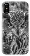 Great Horned Owl V7 IPhone Case