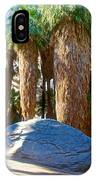 Great Sliding Rock In Lower Palm Canyon In Indian Canyons Near Palm Springs-california IPhone Case