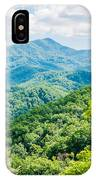 Great Smoky Mountains National Park Near Gatlinburg Tennessee. IPhone Case