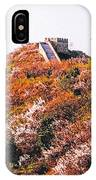 Great Wall In Springtime IPhone Case