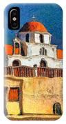 Greek Church 7 IPhone Case