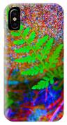 Green - Against The Grain IPhone Case