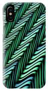 Green And Blue Folds IPhone Case