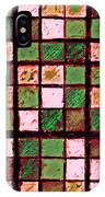 Green And Brown Sudoku IPhone Case