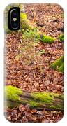 Green And Red Nature In The Forest IPhone Case