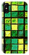 Green And Yellow Sudoku IPhone Case