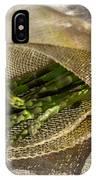 Green Asparagus On Burlab IPhone Case