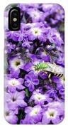 Green Bee Tiny Pollinator IPhone Case
