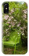 Green Chair IPhone Case