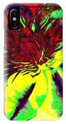 Green Clematis Flower IPhone Case