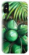 Green Coconuts  3  Sold IPhone Case