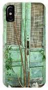 Green Cottage Doors IPhone Case