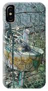 Green Crabbing Basket IPhone Case