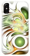 Green Creation IPhone Case