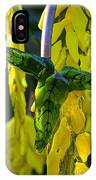 Green Glass Leaves IPhone Case