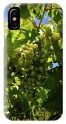 Green Grapes On The Vine IPhone Case