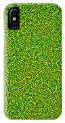 Green Grass Background IPhone Case