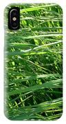 Green Grass Growing IPhone Case