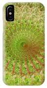 Green Grass Swirled IPhone Case