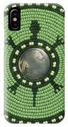 Green Indian Head Turtle IPhone Case