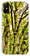 Green Leafy Trees IPhone Case
