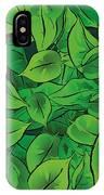 Green Leaves - V1 IPhone Case
