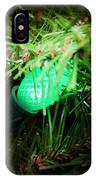 Green Light IPhone Case