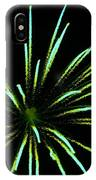 Green Lights Up The Sky IPhone Case