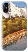 Green Mountain IPhone Case