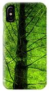 Green On Green IPhone X Case