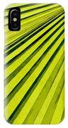 Green Palm Frond IPhone Case