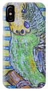Green Parakeet IPhone Case